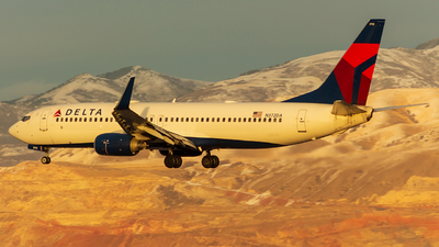 A picture of N372DA - Boeing 737832 - Delta Air Lines - © Micah Vobora