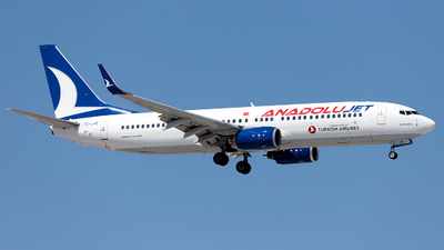 TC-JHE - Boeing 737-8F2 - AnadoluJet