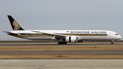 9V-SCF - Boeing 787-10 Dreamliner - Singapore Airlines