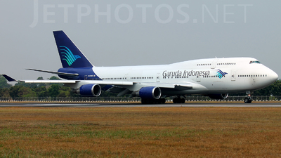 N464MC - Boeing 747-446 - Garuda Indonesia (Atlas Air)