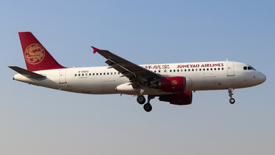 A picture of B6602 - Airbus A320214 - Juneyao Airlines - © SS7D-0027