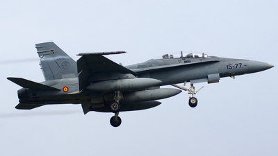 CE.15-09 - McDonnell Douglas EF-18B Hornet - Spain - Air Force