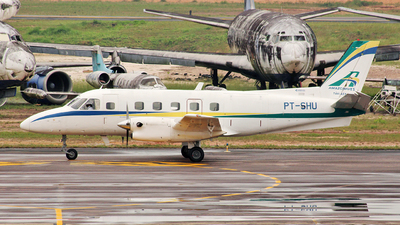 PT-SHU - Embraer EMB-110P1 Bandeirante - Amazonaves Taxi Aéreo