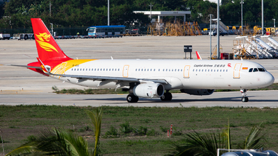 B-1015 - Airbus A321-231 - Capital Airlines
