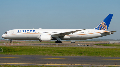 N29961 - Boeing 787-9 Dreamliner - United Airlines