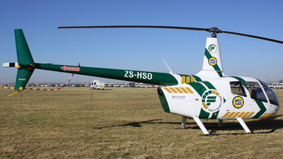 ZS-HSO - Robinson R66 Turbine - Fidelity Security Group