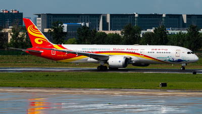 A picture of B1342 - Boeing 7879 Dreamliner - Hainan Airlines - © CKG-YCZ