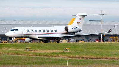 M-JCBB - Gulfstream G650 - J C Bamford Excavators