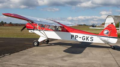 PP-GKS - Piper PA-18 Super Cub - Aero Club - Ponta Grossa