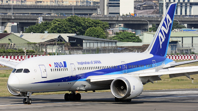JA801A - Boeing 787-8 Dreamliner - All Nippon Airways (ANA)