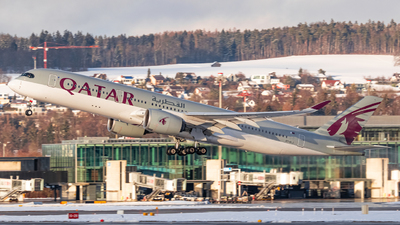 A picture of A7ALJ - Airbus A350941 - Qatar Airways - © Luis Singer