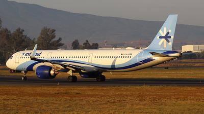 A picture of XADBR - Airbus A321251N - [8353] - © Rene Bernardo Olmos Bernal