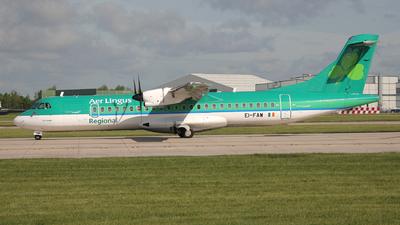 EI-FAW - ATR 72-212A(600) - Aer Lingus Regional (Aer Arann)