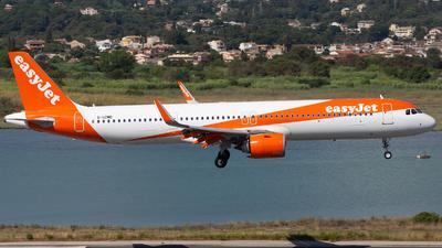 G-UZMD - Airbus A321-251NX - easyJet