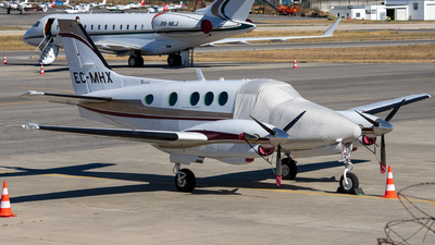 EC-MHX - Beechcraft C90 King Air - Private
