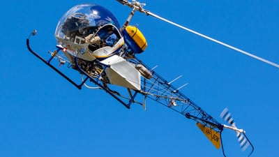 A picture of VHSON - Bell 47G4 - [3135] - © James Saunders