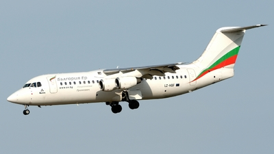 LZ-HBF - British Aerospace BAe 146-300 - Bulgaria Air