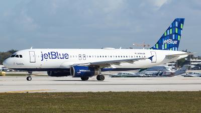 N784JB - Airbus A320-232 - jetBlue Airways