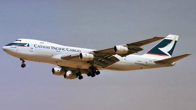 B-HIH - Boeing 747-267B(SF) - Cathay Pacific Cargo