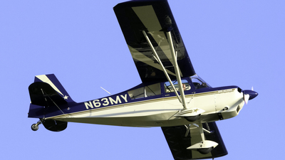 A picture of N63MY - American Champion 8KCAB - [10692008] - © nicholastoto