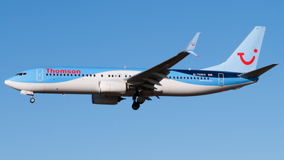 G-TAWO - Boeing 737-8K5 - Thomson Airways