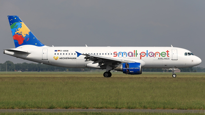 D-ABDB - Airbus A320-214 - Small Planet Airlines Germany