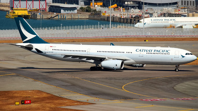 B-LAO - Airbus A330-343 - Cathay Pacific Airways