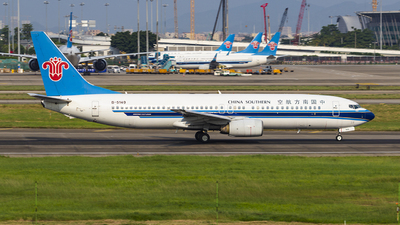A picture of B5149 - Boeing 73781B - China Southern Airlines - © JasonKZ