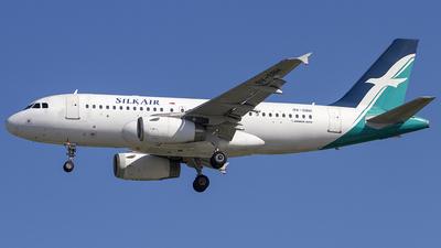 9V-SBH - Airbus A319-133 - SilkAir