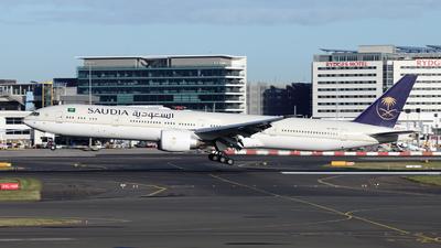 A picture of HZAK36 - Boeing 7773FG(ER) - Saudia - © Morris Biondi