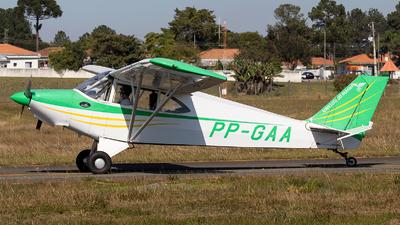 PP-GAA - Aero Boero AB115 - Aero Club - Parana