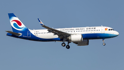 F-WWIZ - Airbus A320-251N - Chongqing Airlines