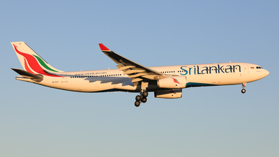 4R-ALR - Airbus A330-343 - SriLankan Airlines