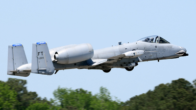 80-0223 - Fairchild A-10C Thunderbolt II - United States - US Air Force (USAF)