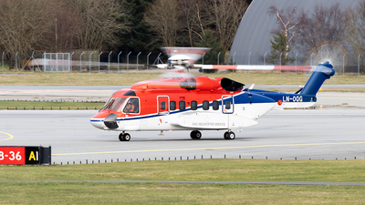 A picture of LNOQG - Sikorsky S92A - CHC Helikopter Service - © Stian Haabeth