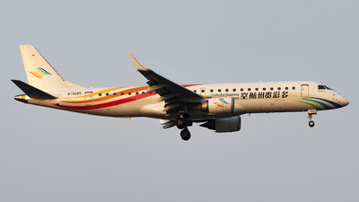 A picture of B3225 - Embraer E190LR - Colorful GuiZhou Airlines - © Zhang wenXi