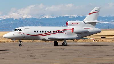 N324AD - Dassault Falcon 900B - Private