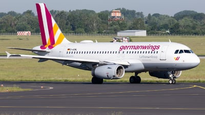 D-AGWL - Airbus A319-132 - Germanwings