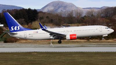 LN-RRF - Boeing 737-85P - Scandinavian Airlines (SAS)