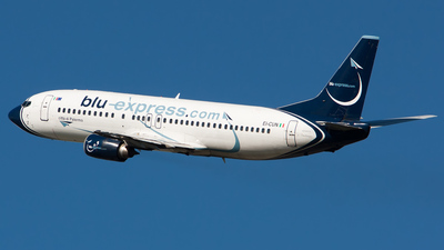 EI-CUN - Boeing 737-4K5 - Blu-express