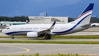 A picture of HL7787 - Boeing 73775G(BBJ) - [36852] - © C. v. Grinsven