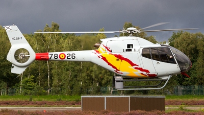 HE.25-7 - Eurocopter EC 120B Colibri - Spain - Air Force