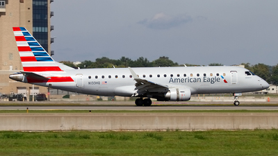A picture of N133HQ - Embraer E175LR - American Airlines - © Jeremy D. Dando