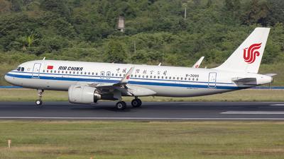 B-309S - Airbus A320-271N - Air China