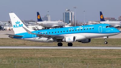A picture of PHEXX - Embraer E175STD - KLM - © Niklas Engel