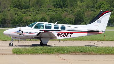 N58KT - Beechcraft 58 Baron - Private
