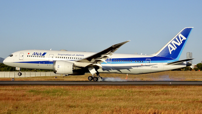 A picture of JA816A - Boeing 7878 Dreamliner - All Nippon Airways - © W_star