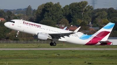 D-AEWN - Airbus A320-214 - Eurowings
