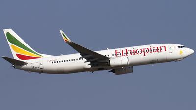 A picture of ETASJ - Boeing 737860 - Ethiopian Airlines - © Jono Druion