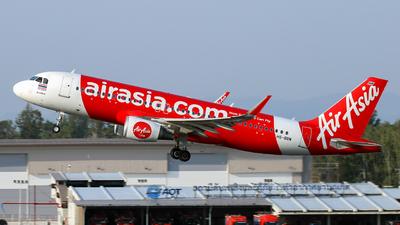 A picture of HSBBW - Airbus A320216 - AirAsia - © Jack  Li